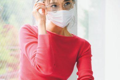 サングラス・メーク・マスクスプレー…「マスク」とスマートに付き合う!