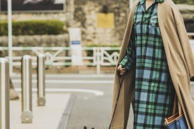 シーズン問わず着られるロングカーディガンをサッと羽織って|秋冬コートSNAP!