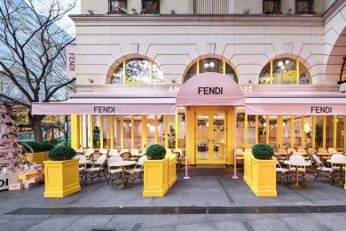 期間限定オープン 「フェンディ カフェ バイ アニヴェルセル」から目が離せない!