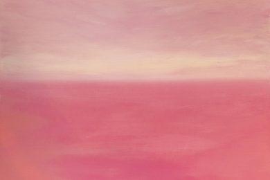 ハワイ・モロカイ島の風を感じる、山崎美弥子さんの色彩豊かな展覧会