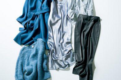 """""""きれい色""""初心者さんにおすすめ、「ブルー」の力で手持ちの服がもっとオシャレに!"""
