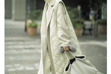オールホワイトは【キルティングコート】で味付けを[12/24 Thu.]