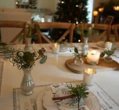 1年最後のビッグイベント、クリスマスはひと月楽しむ」~テーブル編 連載・Wakoさんの暮らしを楽しむTips vol.14