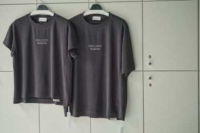 「UNDERSON UNDERSON」が特許取得の和紙素材で作られた、ヘアサロン「SUNVALLEY」とのコラボTシャツを発売!