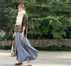 今さら大活躍 夏に買った@ZARA のサテンスカート|武藤京子ブログ