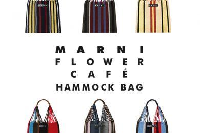40代に大人気、MARNI ハンモックバッグ・シリーズに新たに4種類登場!