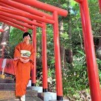 【金沢】着物で秋のおでかけ 石浦神社