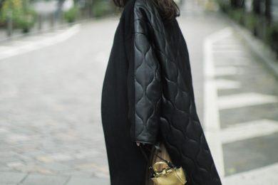 今季らしいコートをお探しなら【部分キルティング】に注目[12/7 Mon.]