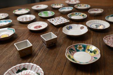 """モダンで使いやすい九谷焼や信楽焼……  """"お気に入りのひと皿""""がきっと見つかる、テーブルウェアのPOP UP"""