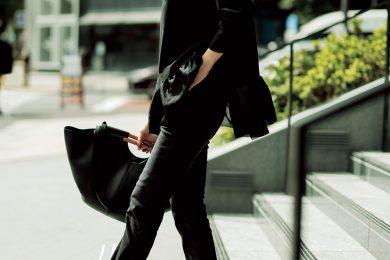 オールブラックも【ブーツがごつめ】なら、ほら!今っぽい[12/8 Tue.]
