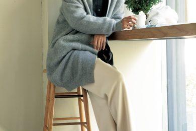 ほっこりしないカジュアルの秘訣は【ボリュームスニーカー】[1/24 Sun.]