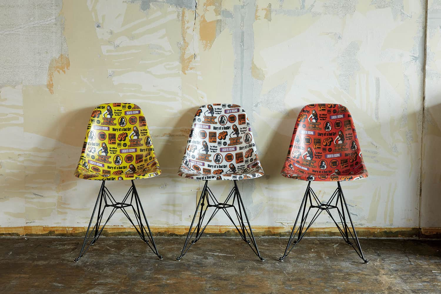 HYSTERIC GLAMOUR×MODERNICA SHELL CHAIR