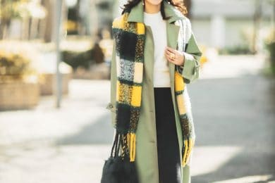 【真冬の防寒オシャレSNAP!② 】きちんと見え「ニットパンツ」なら暖かさとオシャレを両立