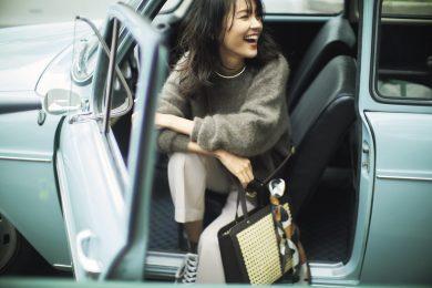 久々ドライブは【モヘアの淡ブラウン】と優しい笑顔で[12/12 Sat.]