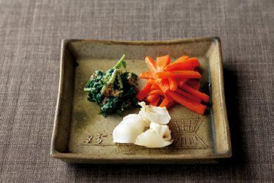 新鮮な野菜をシンプルに美味しく!野菜三種盛り【プロに聞いたお家ごはんレシピ】