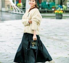 """【関東&関西12名SNAP!】あったかくて女っぽい、これぞ""""免疫力UP""""ファッション"""