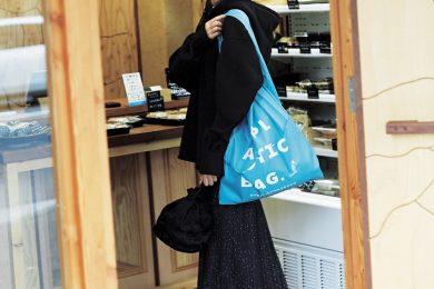 ちょこっと食材の買い出しは地元映えするビックパーカで[2/14 Sun.]