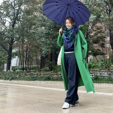 ストールの配色でコーディネート   武藤京子ブログ