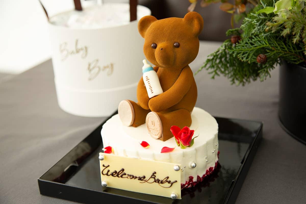 テディベアのケーキ