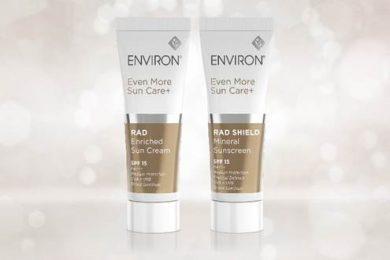 南アフリカ発エンビロンより、光老化ケア・低刺激で光ダメージから肌を守るサンケアアイテム発売!