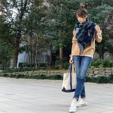 暖かい日 ストールをアウターがわりに 武藤京子ブログ