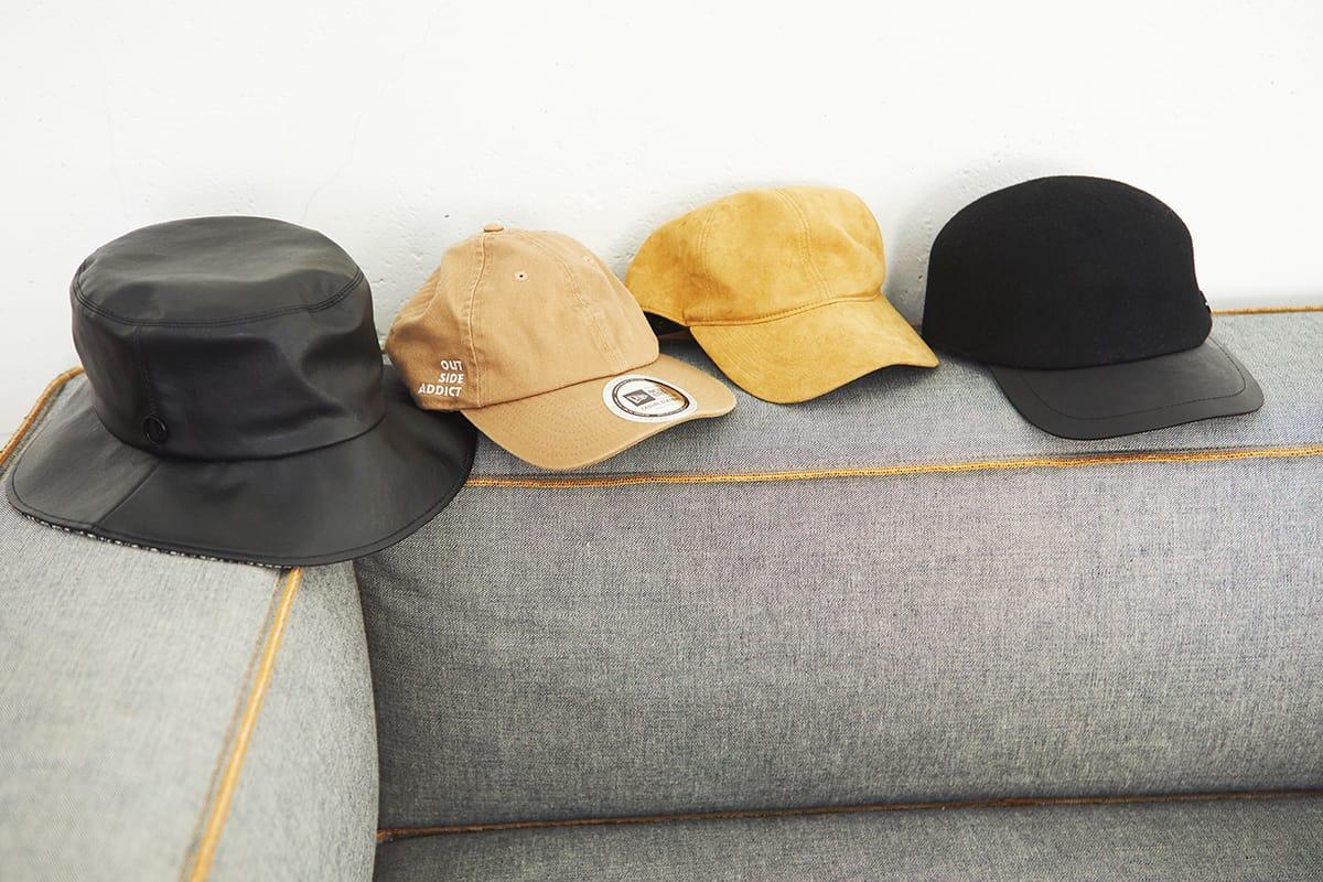 稲沢朋子さん私物の帽子