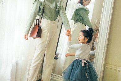 女の子ママ 高垣麗子さん〝娘に伝えたいオシャレ〟① 〜オシャレって楽しい!〜