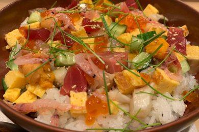 アンダーズ 東京の<br>期間限定「サクラちらし寿司 ランチ」で<br>とっておきの春を過ごす