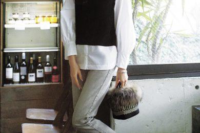デニムカジュアルに「ドッキングシャツ」という、楽ちんオシャレな選択[3/14 Sun.]