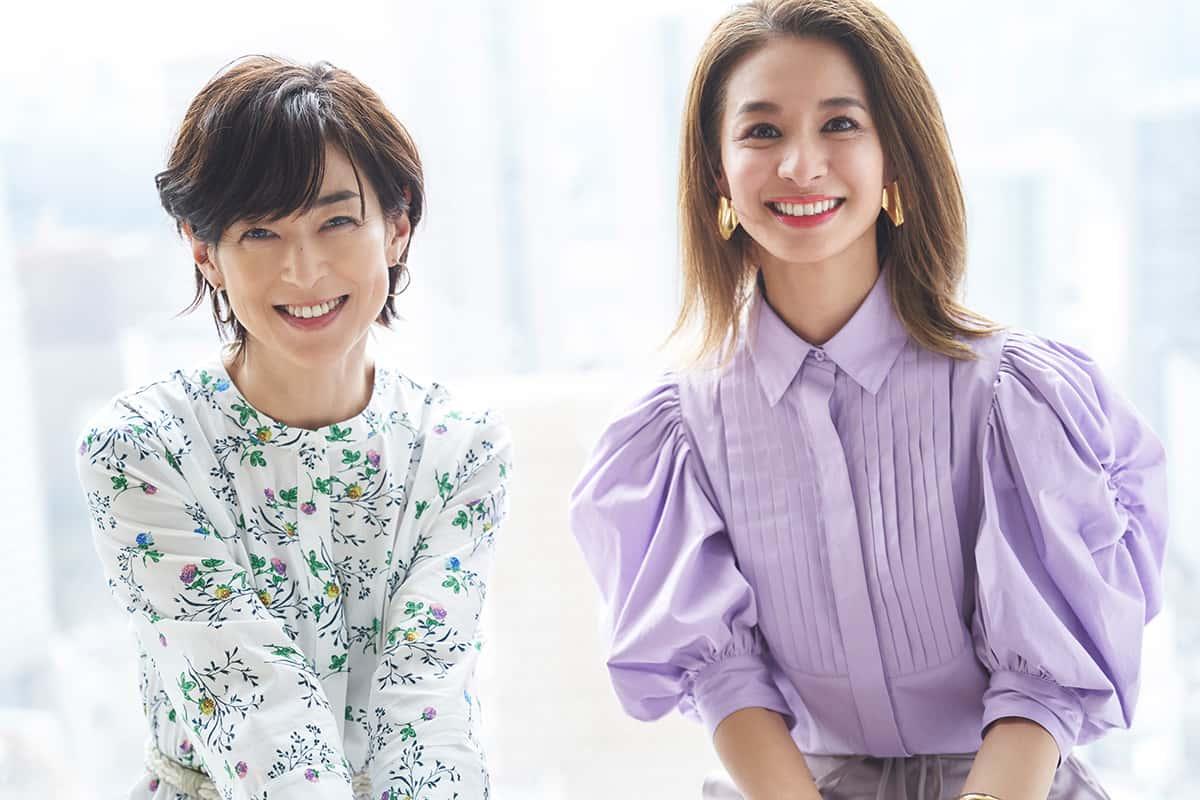 鈴木保奈美さん、稲沢朋子さん対談2