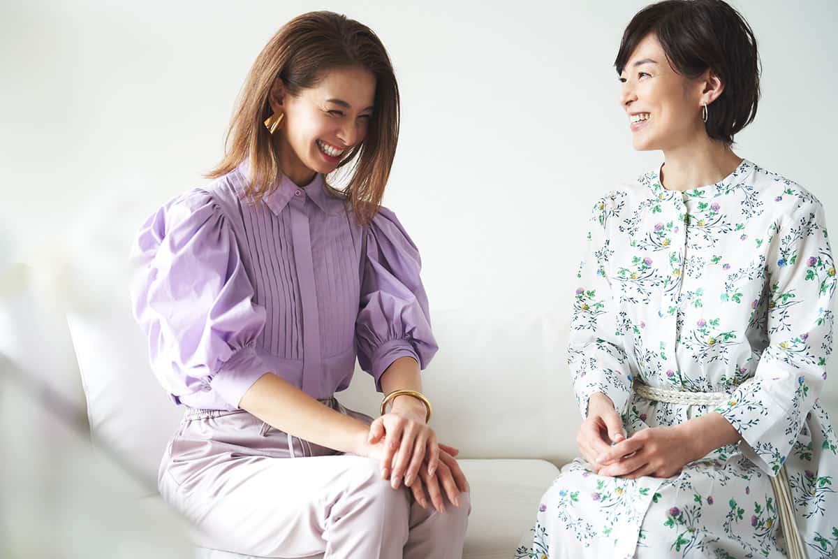 鈴木保奈美さん、稲沢朋子さん