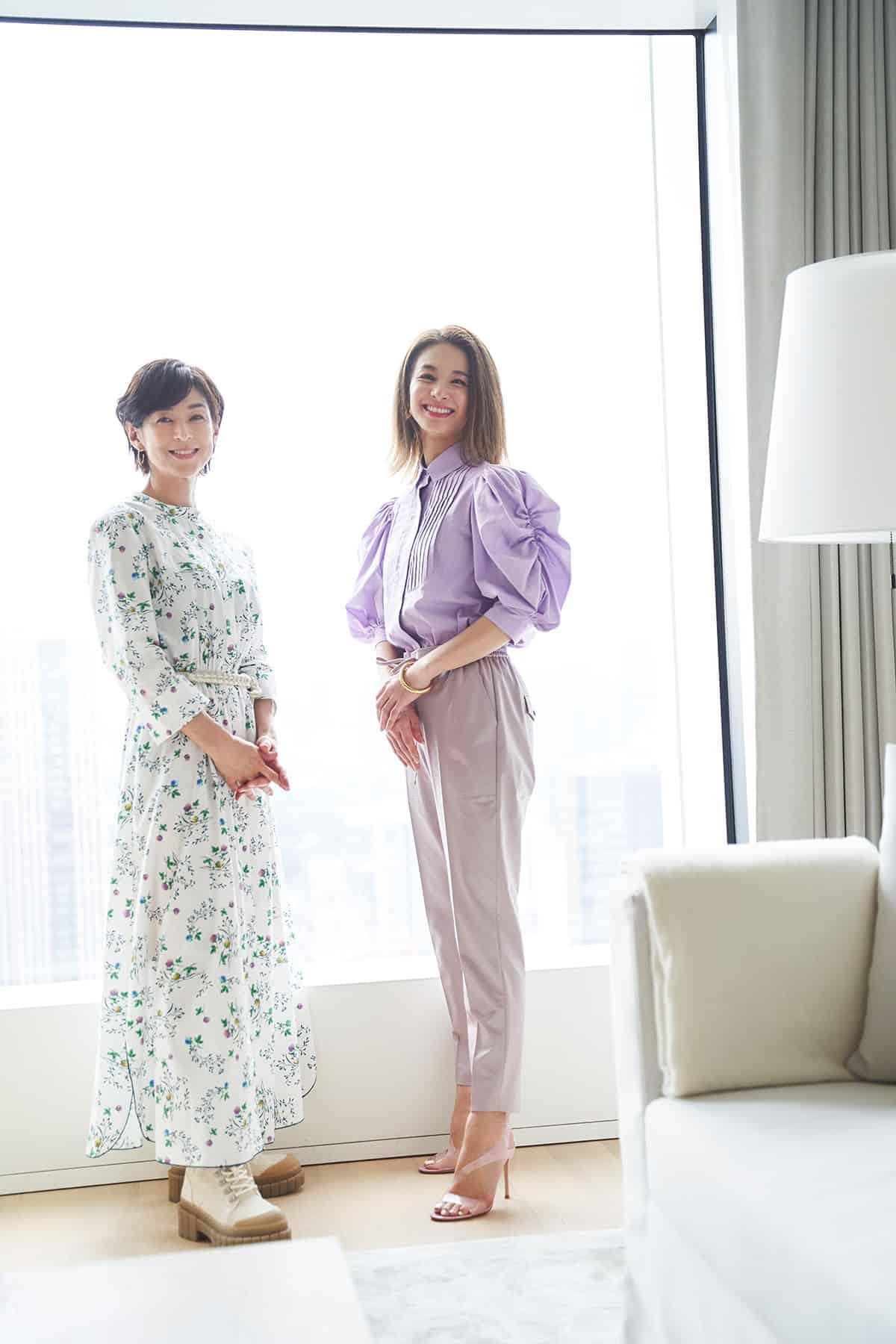 鈴木保奈美さん、稲沢朋子さん対談