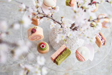 お花見気分が楽しめる、フォーシーズンズホテル京都の桜色スイーツ