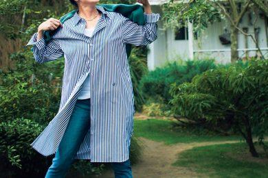 女優、板谷由夏さんの「私を躍らせる5着のワンピース」
