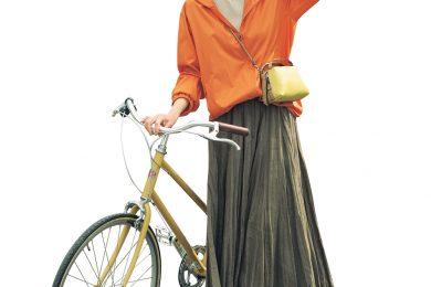 """体感温度4℃マイナス! """"自転車の風冷え""""問題は「春ブルゾン」で解決"""
