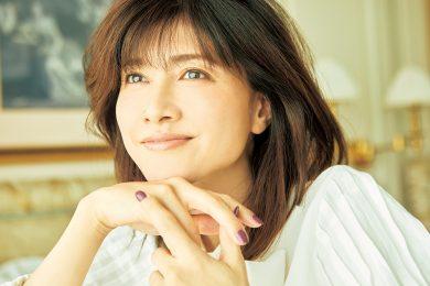 内田有紀さんにインタビュー「今の自分になれてよかったと思えて、 また頑張れる」