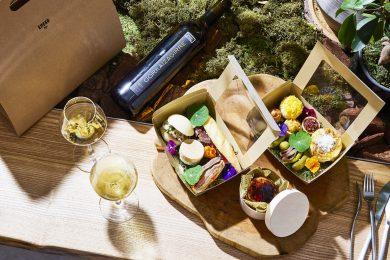 """モダンバスクレストラン「エネコ東京」に、""""おうちでバスク""""を楽しめるピクニックボックスが登場"""