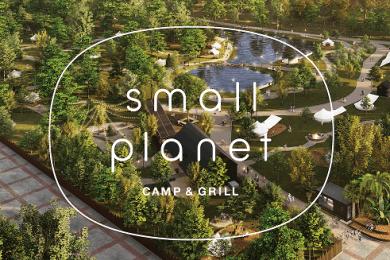千葉・稲毛海浜公園にグランピングを楽しめる「small planet CAMP & GRILL」がオープン!