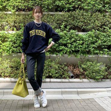 NAVY×WHITE に 差し色   武藤京子ブログ