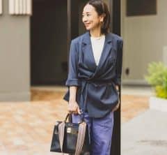 【大人のGU春SNAP!】スタイリスト乾 千恵さんが選んだカラーパンツはSサイズさんにもオススメ