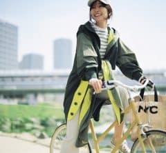 足さばきのいい薄アウターなら自転車の足取りも軽く[5/3 Mon.]
