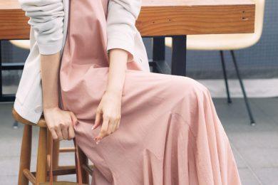 きれい色ワンピにさっとカーデを羽織って女っぽさ満開に![5/23 Sun]