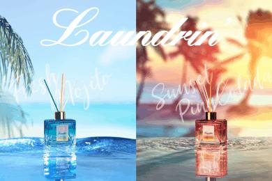 ランドリンから夏季限定「フレッシュモヒートの香り」と 新作「サンセット ピニャコラーダの香り」が登場!