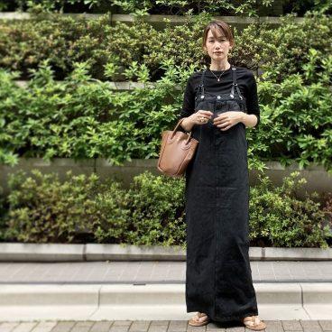 BLACKにCAMEL小物で プチプラアクセ   武藤京子ブログ