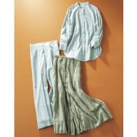 crie confortoの「セージグリーンの服」を計9名様にプレゼント【雑誌購入会員限定プレゼント】