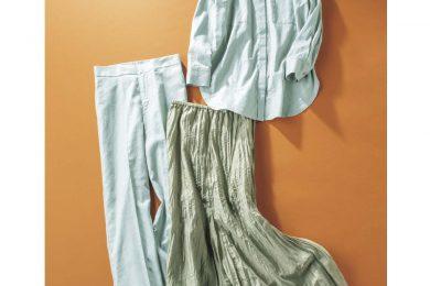 crie confortoの「セージグリーンの服」を計9名様にプレゼント