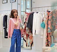 【丸の内・日めくり7days②】気分が上がるピンク×ブルーで気合いを入れてショッピング