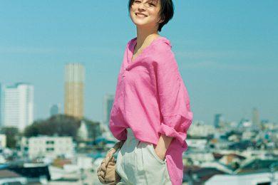 広末涼子さんが40歳になって見つけた「ママOFFの日に挑戦するオシャレ」前編