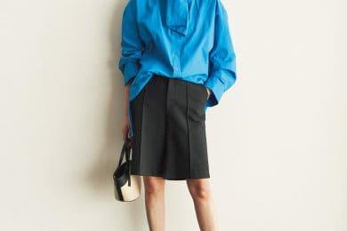 今年流行の「ハーフパンツ」。少年っぽくならない着こなしとは?