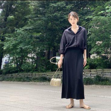 シンプルな服に小物で変化を   武藤京子ブログ
